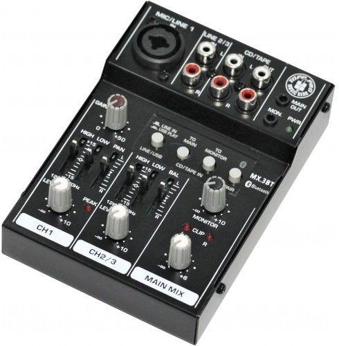 Topp Pro TP MX3BT - mikser analogowy / interfejs