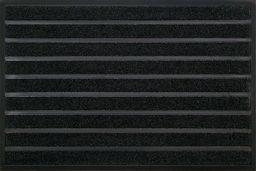 Matowy pędzel Combi Brush, włókna syntetyczne, czarny, 80 x 120 x 0,6 cm