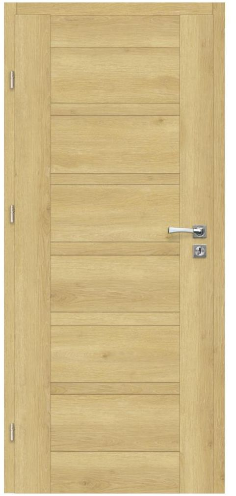 Skrzydło drzwiowe pełne ETNA Dąb piaskowy 90 Lewe ARTENS