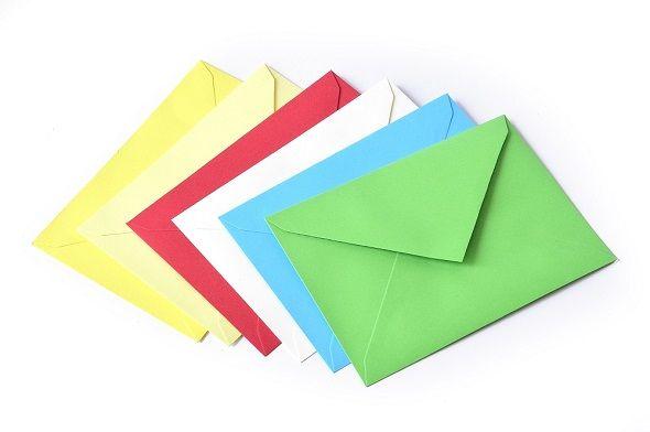 Koperty ozdobne Gładkie kolorowe