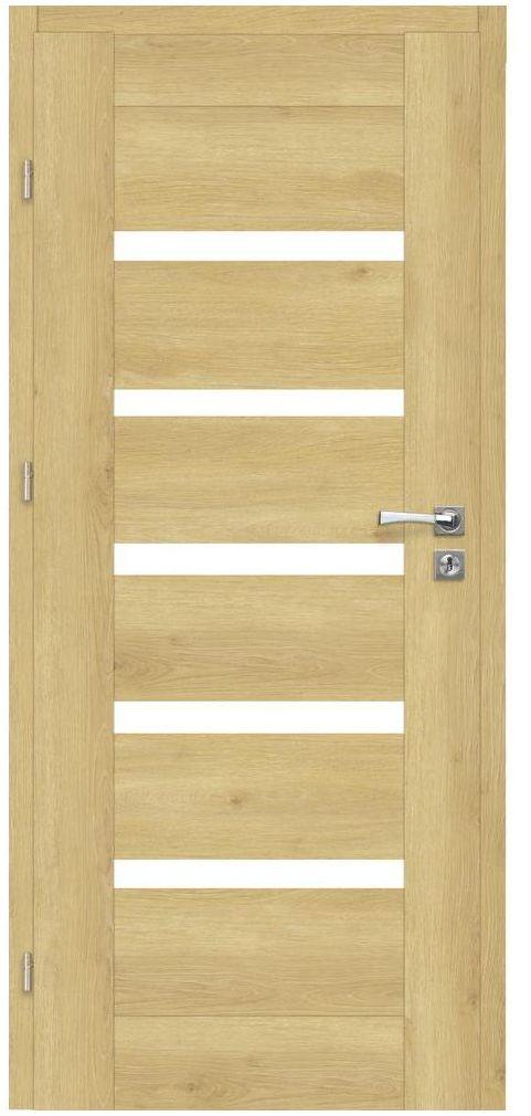 Skrzydło drzwiowe pokojowe ETNA Dąb piaskowy 80 Lewe ARTENS