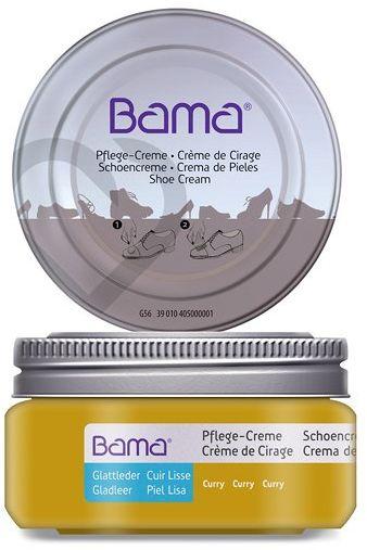 Krem do obuwia BAMA Premium 167 Curry 50ml w słoiczku - Żółty