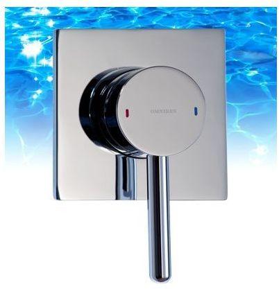 OMNIRES Bateria podtynkowa prysznicowa Y chrom Y1245/KCR