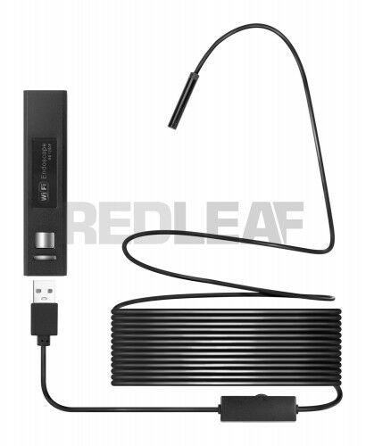 Redleaf RDE-510WS - Endoskop WiFi elastyczny kabel 10 m