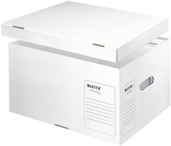 Pudło do archiwizacji LEITZ INFINITY L otwierane z góry ekologiczne - X06145