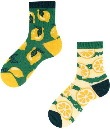 Lemon Kids, Todo Socks, Cytryny, Owoce, Limonki, Kolorowe Dziecięce