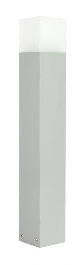 SU-MA Cube Max CB-MAX 700 AL lampa stojąca srebrna IP44 E27 70cm