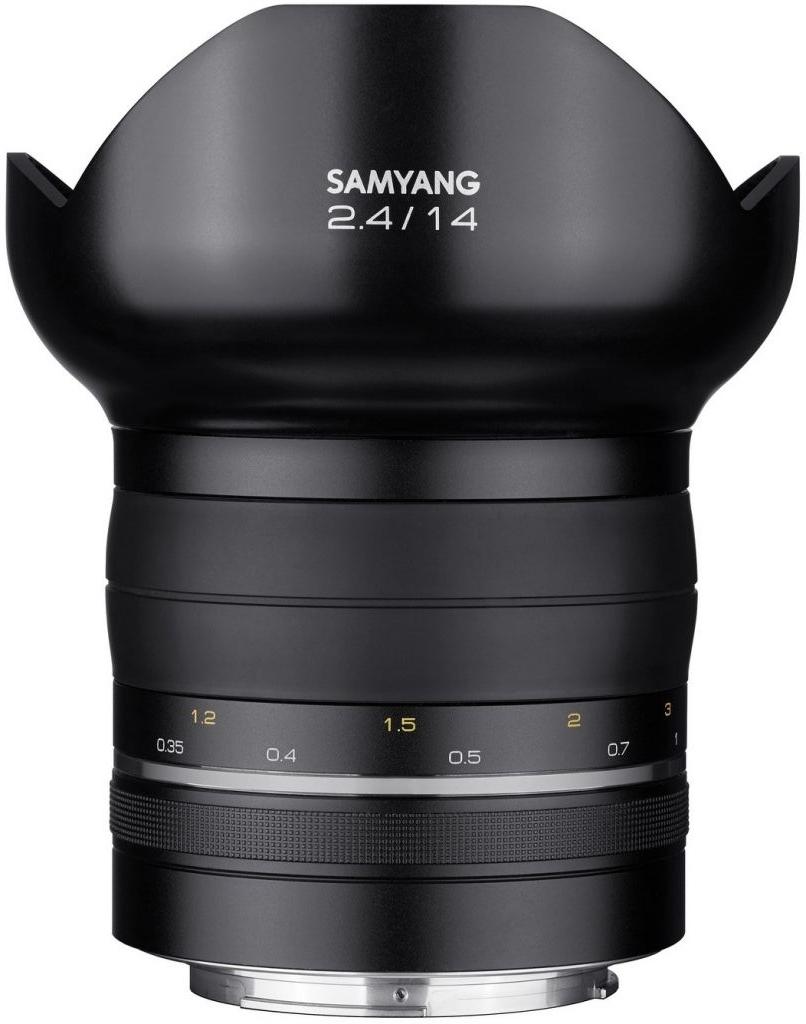Samyang XP 14mm F2.4 - obiektyw stałoogniskowy do Nikon Samyang XP 14mm F2.4