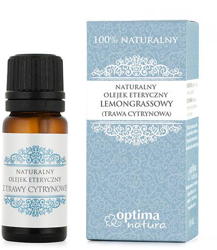 Lemongrasowy olejek eteryczny Naturalny, 10 ml, z trawy cytrynowej