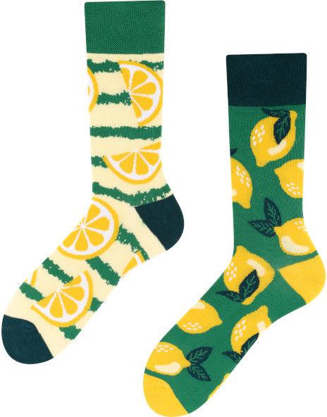 Lemon, Todo Socks, Cytryny, Owoce, Limonki, Kolorowe Skarpetki