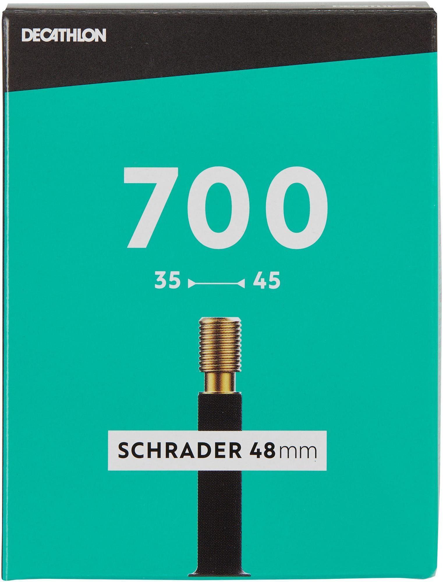 Dętka Rowerowa 700X35/45 Z Wentylem Schrader 48 Mm
