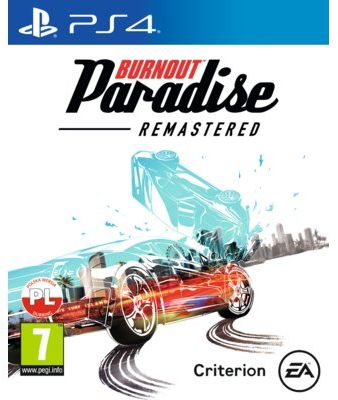 Gra PS4 Burnout Paradise Remastered