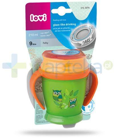 Lovi Folky 360  kubek dla dzieci 9m+ 210 ml [1/523_new]