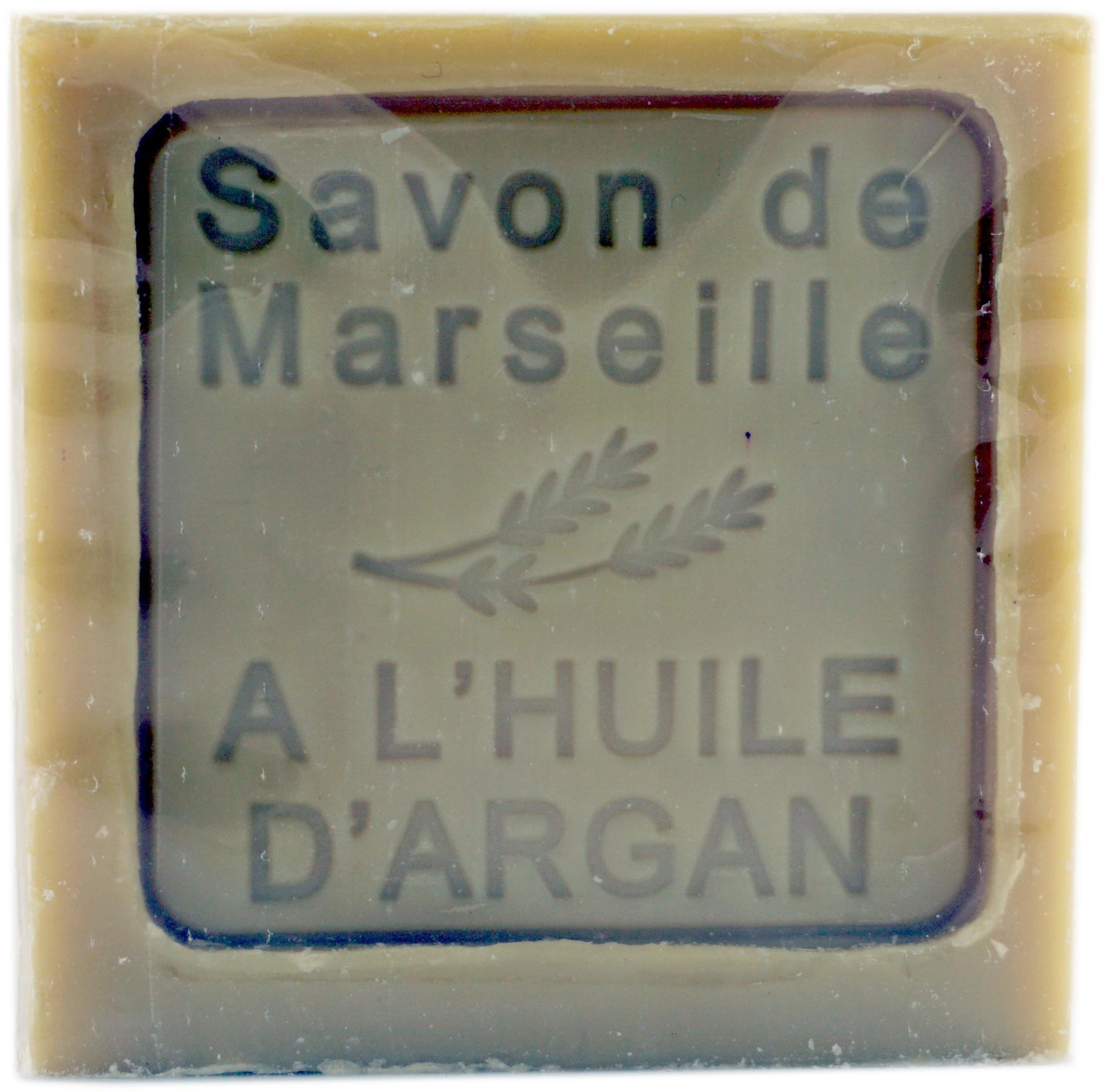 Mydło Marsylskie z Olejem Arganowym - 300g - Le Chatelard