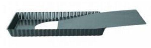 Ibili zestaw foremek do quiche Moka, prostokątny, 28 x 20 cm, blacha stalowa, czarna, 28 x 20 x 28 cm, 2 sztuki