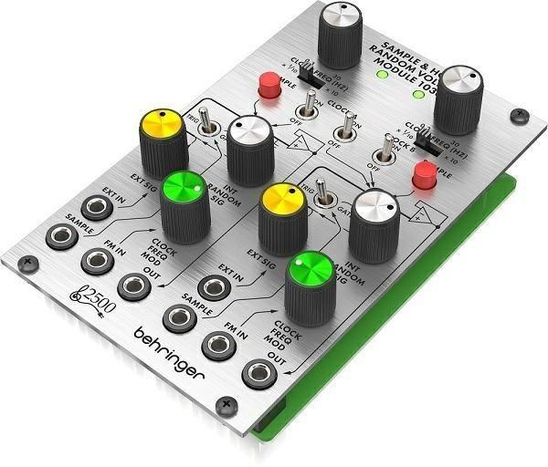 Behringer 1036 SAMPLE/HOLD/RANDOM VOLTAG Moduł syntezatora modularnego serii 2500