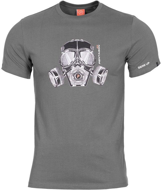 "Koszulka T-shirt Pentagon ""Gas-Mask"" - Wolf Grey (K09012-08WG)"