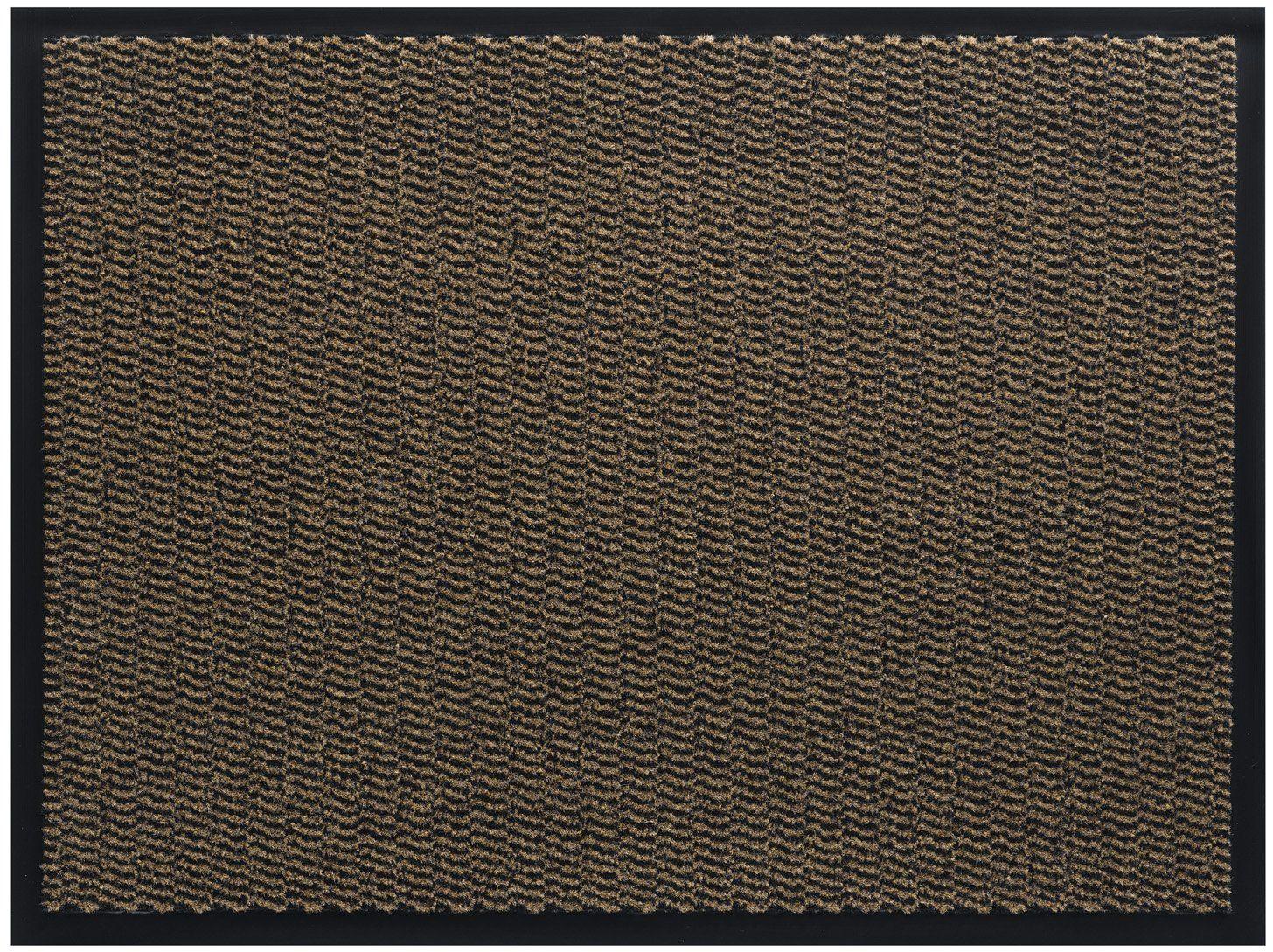 HMT Wycieraczka z polipropylenu, brązowa, 60 x 80 cm