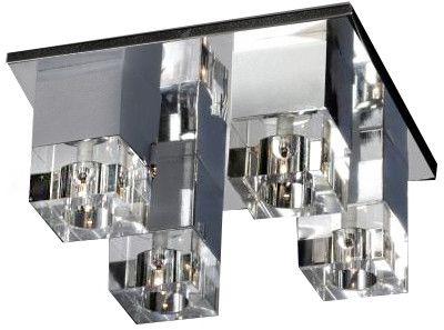 Plafon BOX 4 AZ0178 - Azzardo +LED - Zapytaj o kupon rabatowy lub LEDY gratis