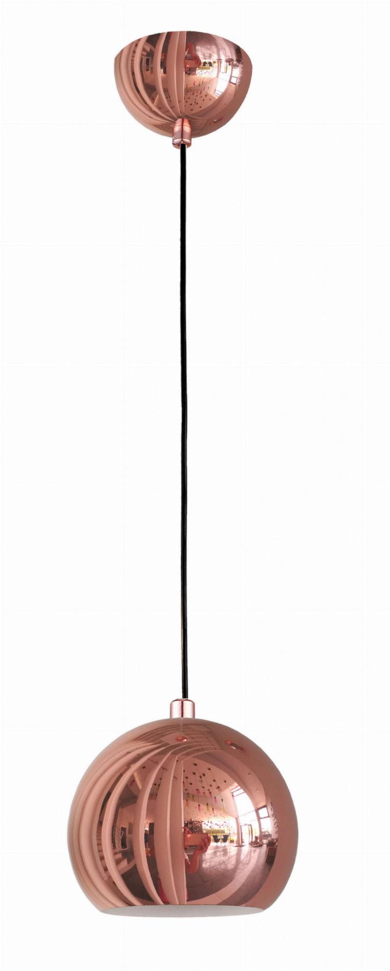 Lampa wisząca Rame LP-2014/1P Light Prestige nowoczesna oprawa w kolorze miedzianym