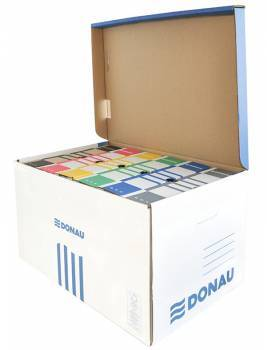 Pudło do archiwizacji DONAU 560*370*315mm niebieskie - X07621