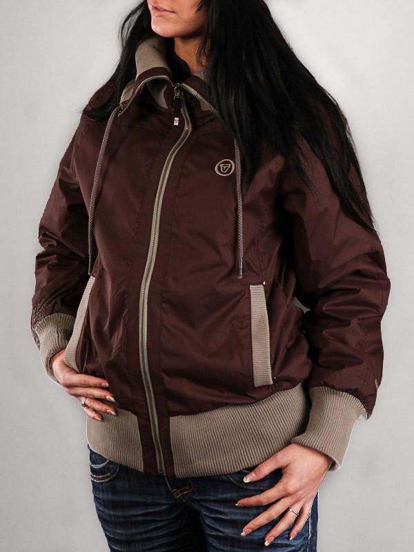 Vehicle LANAI brown wiosna kurtki kobiety - XS
