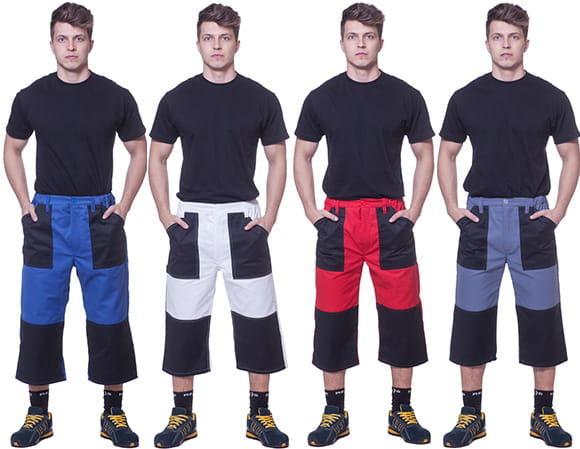 Spodnie robocze do pasa 3/4 All