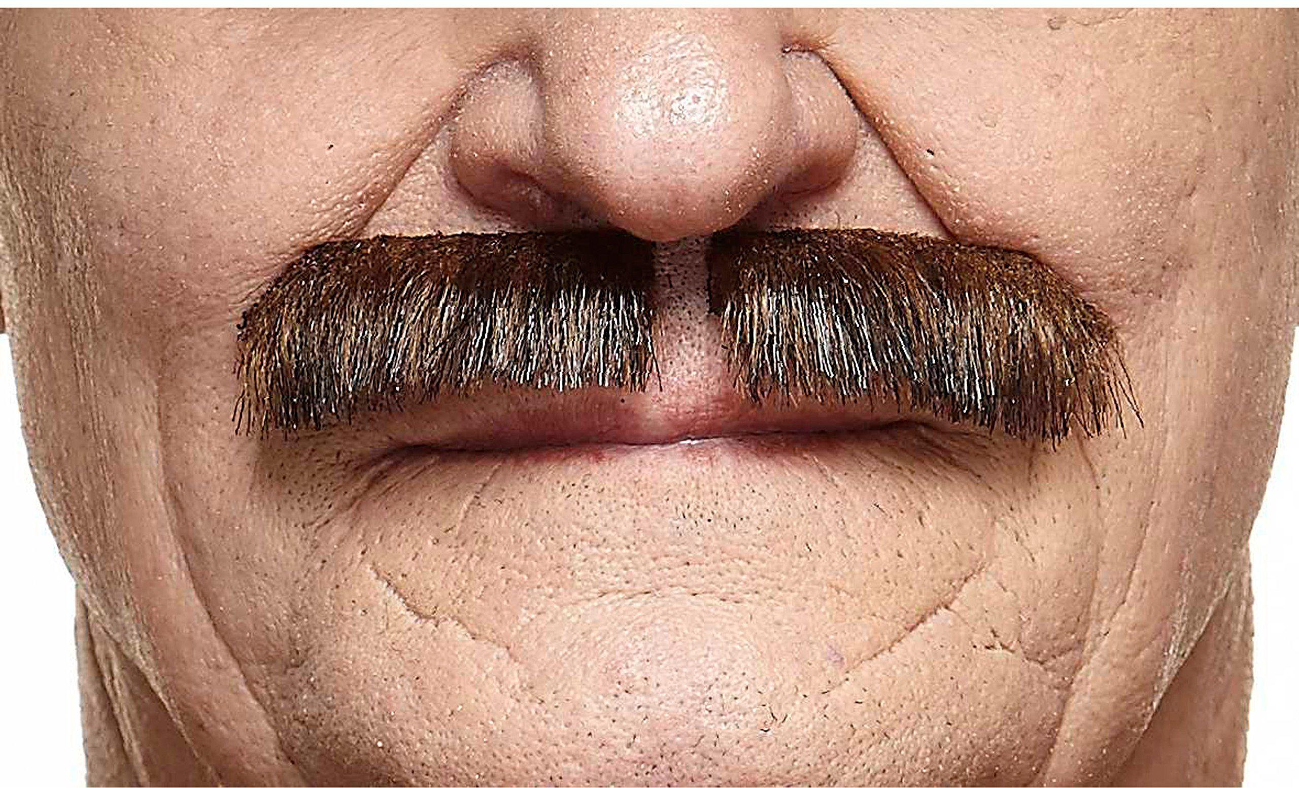 Kostiumy żywe 205018 wąsy, wielokolorowe, jeden rozmiar