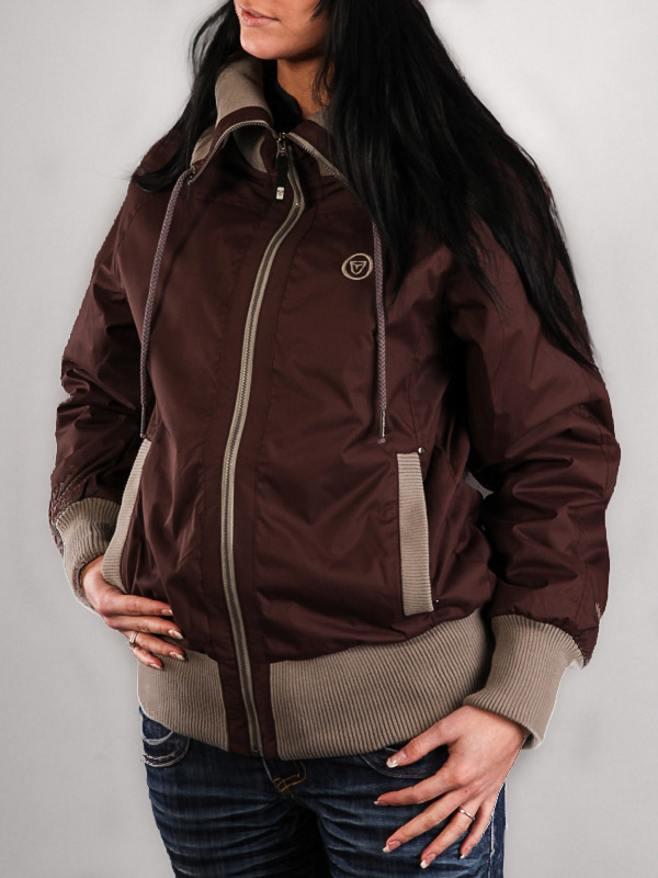 Vehicle LANAI brown wiosna kurtki kobiety - S