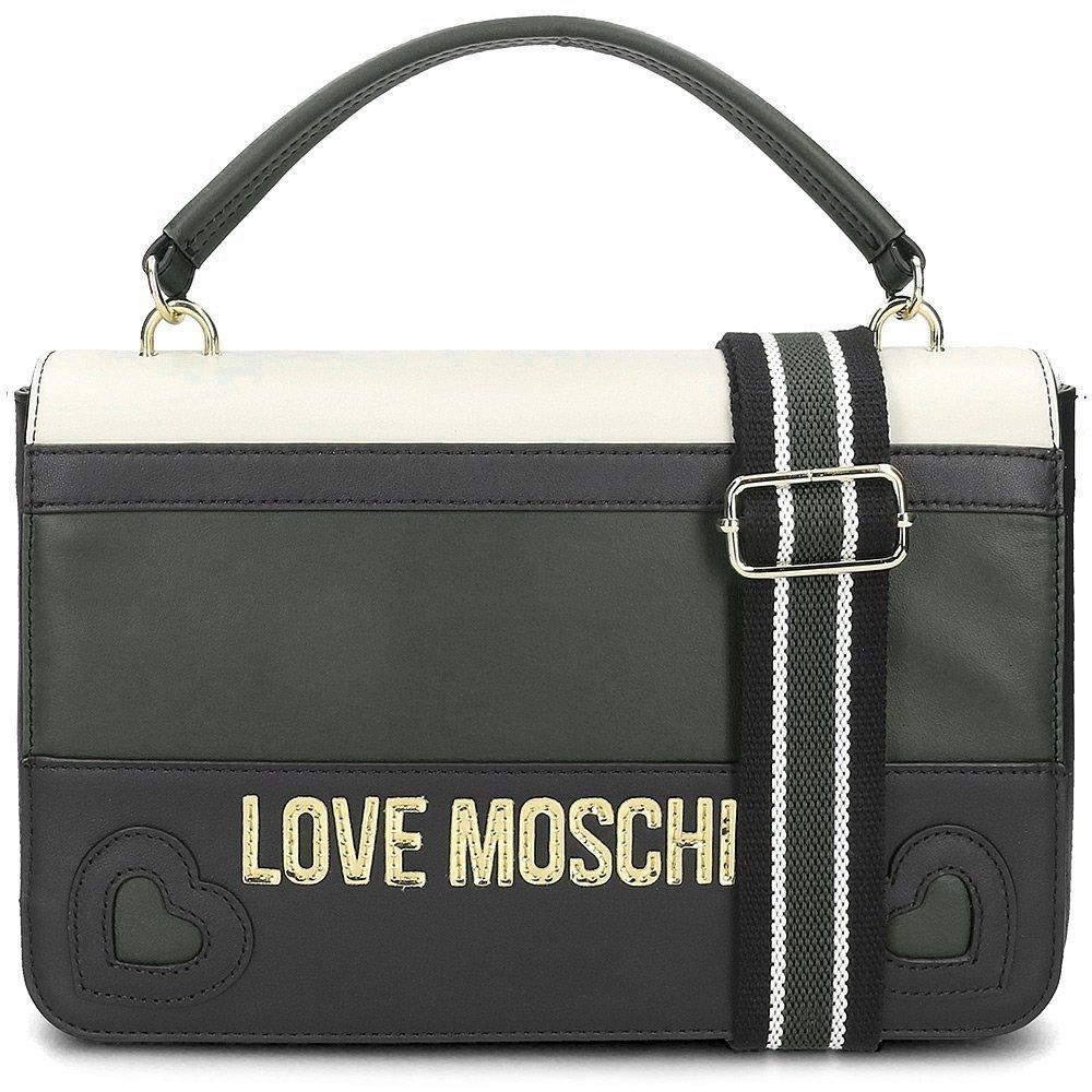 Love Moschino - Torebka Damska - JC4337PP06KZ180A - Wielokolorowy Czarny