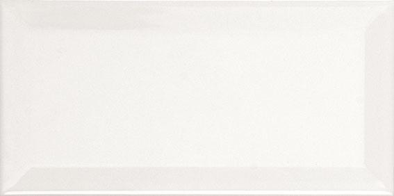Biselado Blanco MAT 10x20