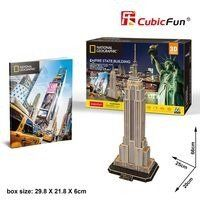Puzzle 3D National Geographic Empire State Building - Cubic Fun