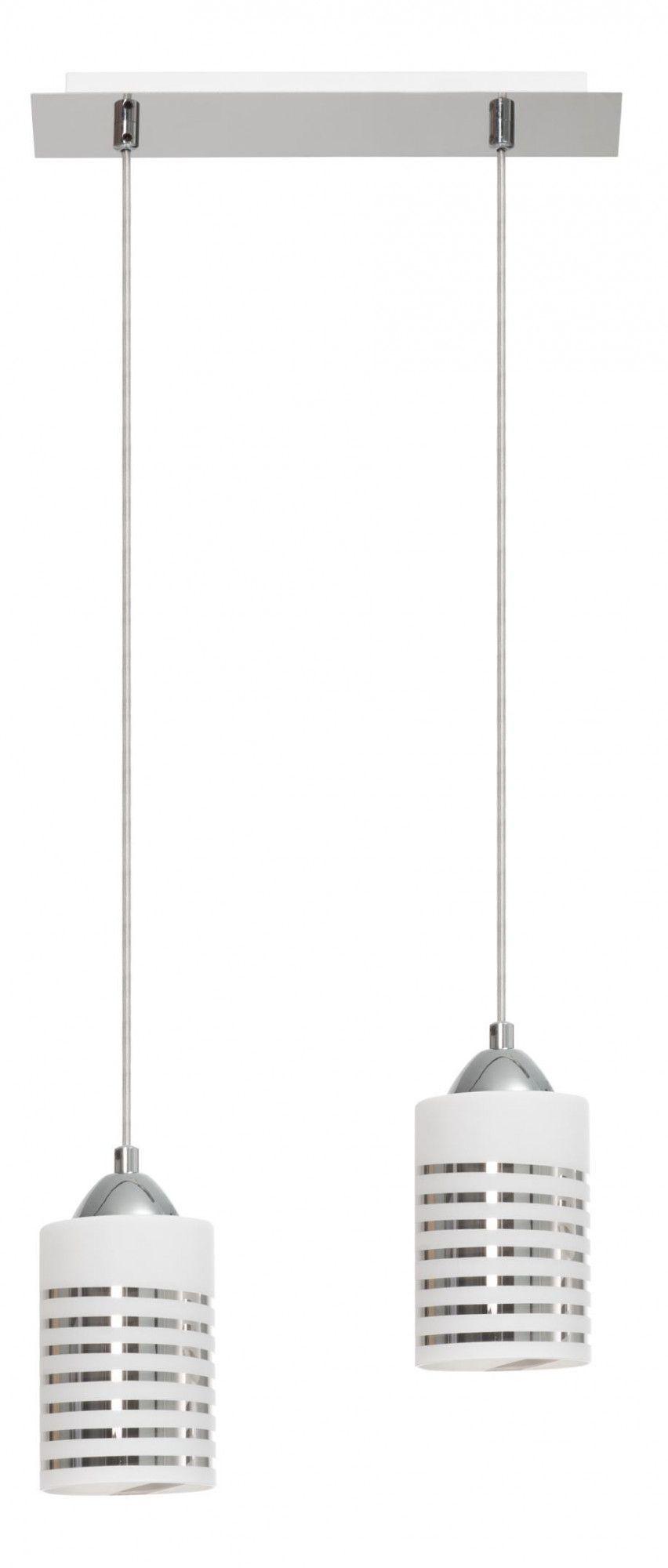 Podwójna szklana lampa wisząca E414-Nils