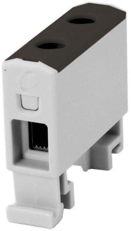 Złączka szynowa gwintowa AL/CU/ 1,5 - 16 mm2 / TS 35/ 1 tor, 2 otwory zaciskowe, OTL16 czarny MAA1016S10 89701007