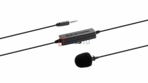 Saramonic LavMicro Mikrofon krawatowy ze złączem mini Jack TRRS