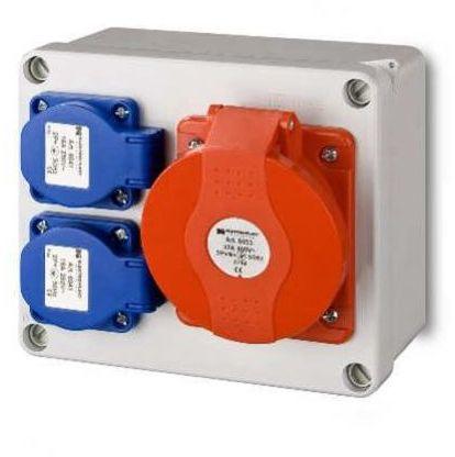 Rozdzielnica elektryczna bez wyposażenia RS2X2P + Z32 A / 5 ELEKTRO-PLAST