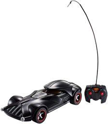 Hot Wheels FBW75 Star Wars Darth Vader RC pojazd z lampkami i dźwiękami, zdalnie sterowany samochód z kontrolerem, zabawka od 3 lat