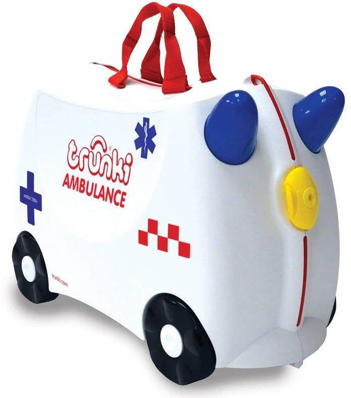 Walizka dla dzieci Trunki - ambulans Abbie