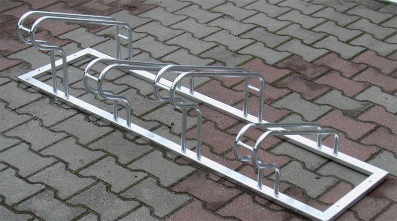 Stojak rowerowy , na rowery ST ,4 stanowiska