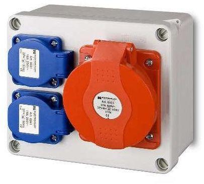 Rozdzielnica elektryczna bez wyposażenia RS2X2P + Z16 A / 5 ELEKTRO-PLAST