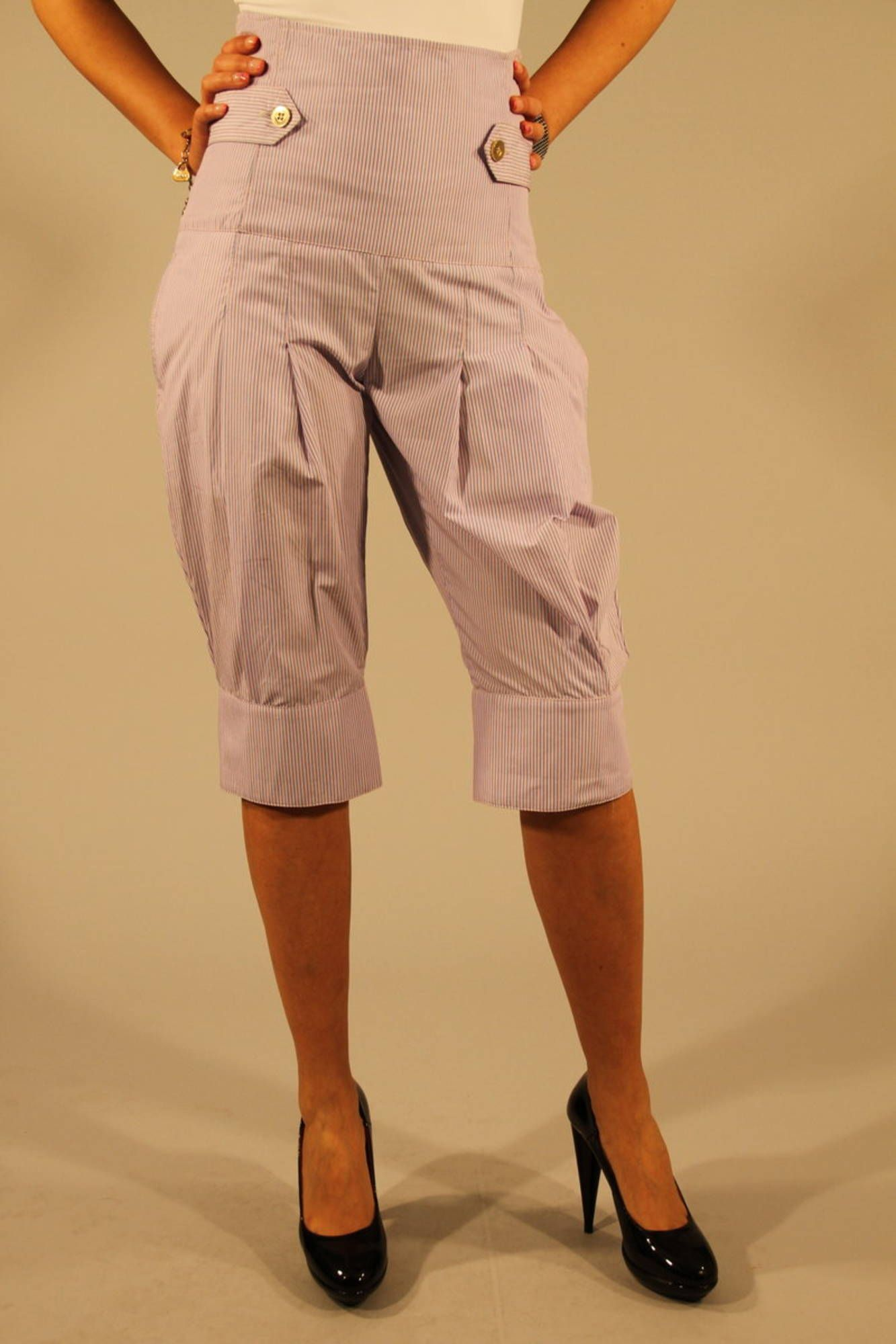 PATRIZIA PEPE Capri trousers Women