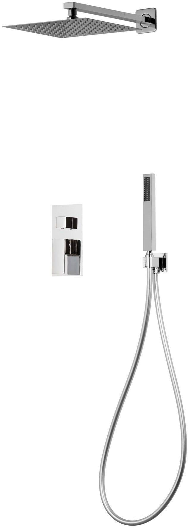 Corsan Prysznicowy zestaw podtynkowy chrom z mieszaczem Z01MCH