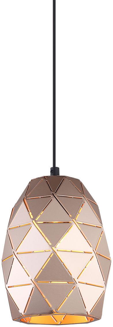 Italux lampa wisząca Harley MDM-3480/1 GD metalowa złota 15cm