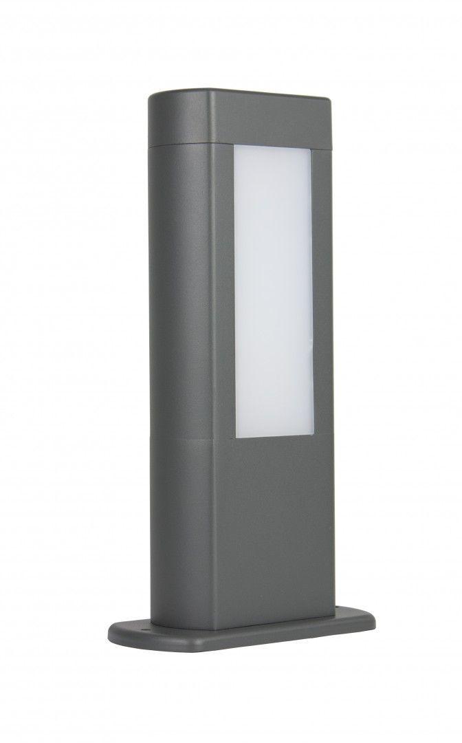 SU-MA Evo GL15401 lampa stojąca ciemny popiel LED 8W 4000K IP54 30cm