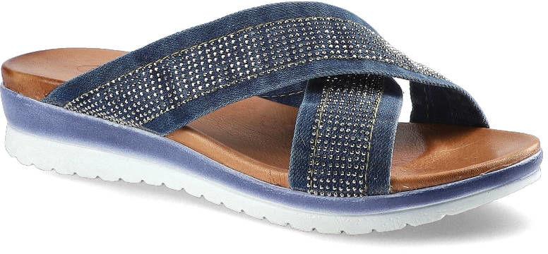 Klapki LANQIER 42C209 Jeans