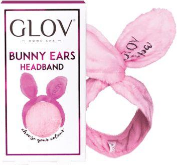 Glov Beauty Bomb zestaw z rękawicą do demakijażu oraz opaską Bunny