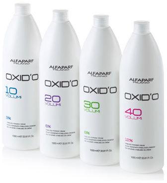 Alfaparf OXID O kremowa woda utleniona, developer 90ml