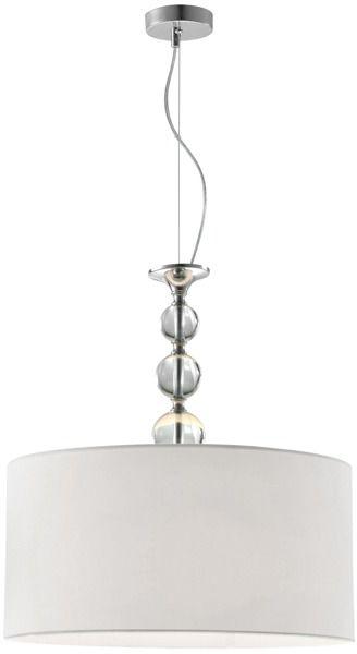Lampa wisząca Rea RLD93163-1W Zuma Line biała oprawa w stylu nowoczesnym