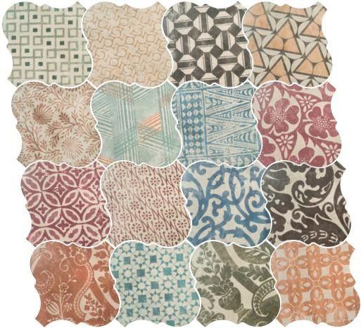 Curvytile Patchwork Ceramic 26,5x26,5