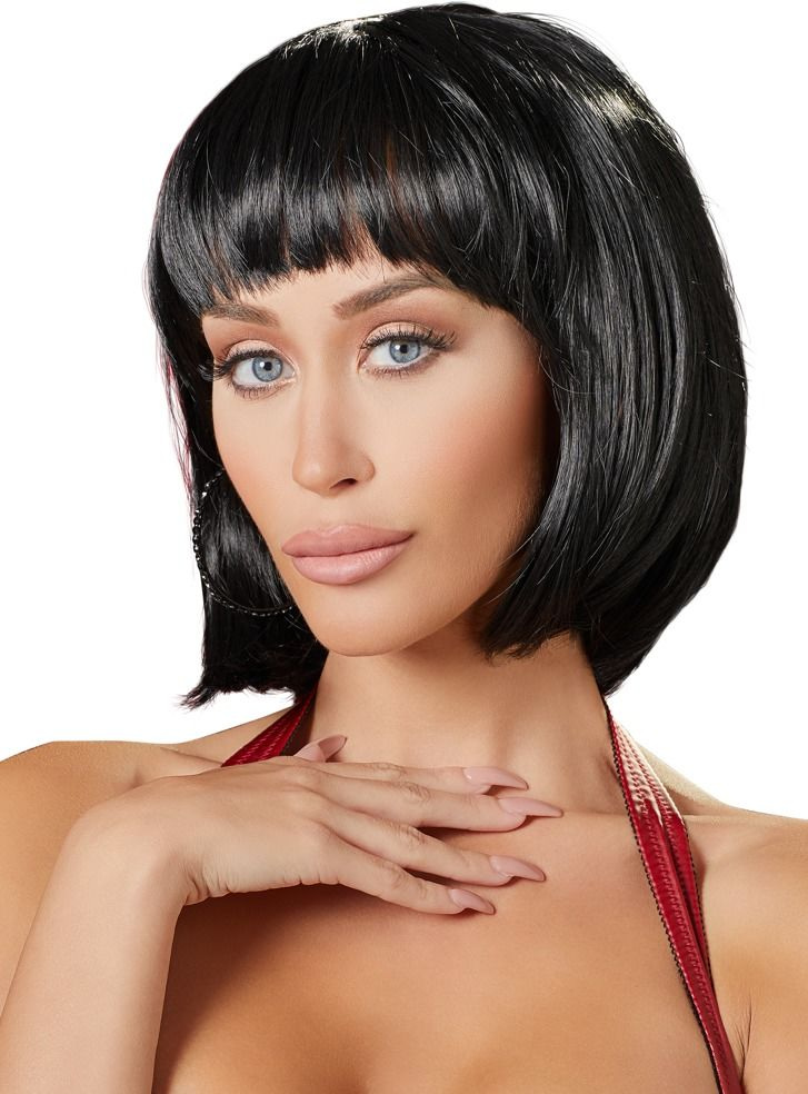 Cottelli Wig Bob Black